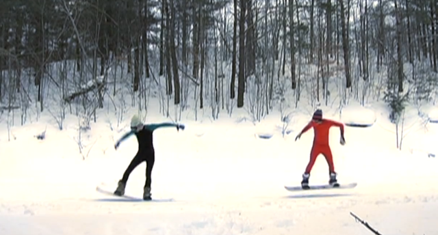 xc snowboarding
